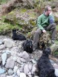 All the boys, Bracklinn Falls, Calendar, Scotland