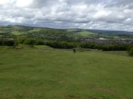 View of the Derbyshire countryside