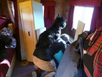 In our motorhome - always being nosey