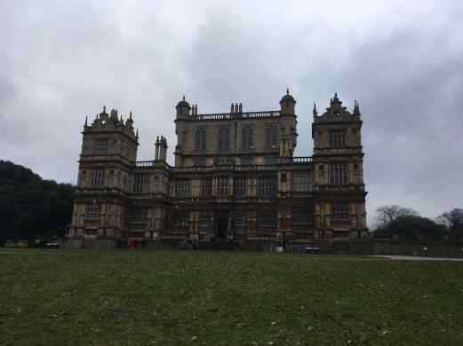 Front view of Wollaton Hall