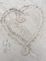 sandy heart
